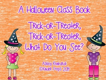NO PREP Halloween Class Book: Trick-or-Treater...What Do You See?