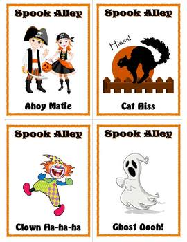 Halloween Class Party Game: Spook Alley