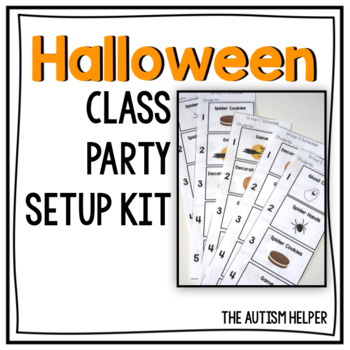 Halloween Class Party Setup Kit