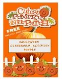 Halloween Classroom Activity Bundle
