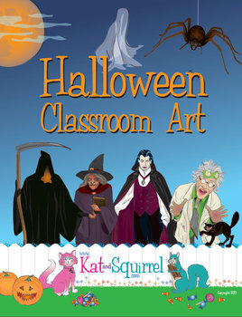 Halloween Classroom Art (Decorations)