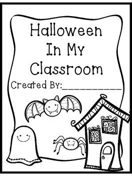 Halloween Classroom-Created Book