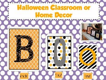 Halloween Classroom Decor