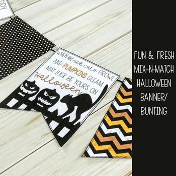 Halloween Classroom Decor Banner Pack