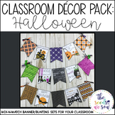 Halloween Classroom Decor Banner Pack