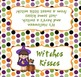 Halloween Classroom Party Witches Kisses Large Bag Toppers