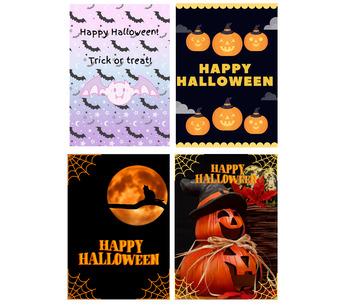 Halloween Classroom Posters Set of 4