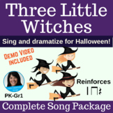 Halloween Dramatization Song | Three Little Witches | Complete Song Package
