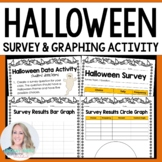 Halloween Classroom Survey and Graphing Activity - Free
