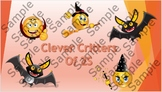 Halloween Clever Critters Poster