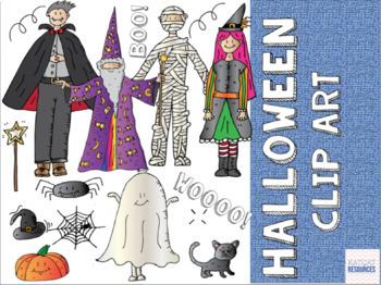 Halloween Clip Art 2