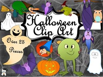 Original Halloween Clip Art #Halloween2017