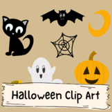 Halloween Clip Art (Commerical Use)