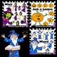 Halloween Clip Art BUNDLE | Jack-o-Lantern | Witch | Skeleton and Friends
