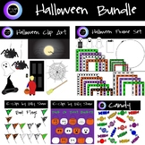 Halloween Clip Art Bundle: 127 Graphics, Personal or Comme