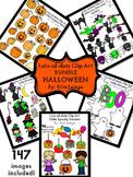 Halloween Clip Art Bundle- 147 images!