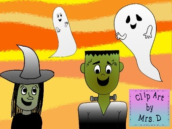 Halloween Clip Art Bundle - Commercial Use Okay!