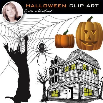 Halloween Clip Art [Commercial Use Permitted]