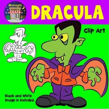 Halloween Clip Art - Dracula