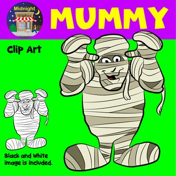 Halloween Clip Art - Mummy