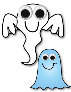 Ghost Clipart ~ Commercial Use OK ~ Halloween ~ $$ DOLLAR DEAL $$