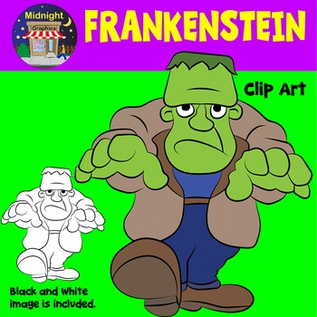 Halloween Clip Art - Frankenstein
