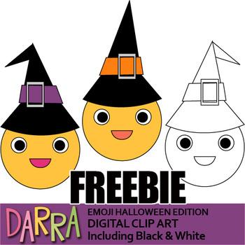 Halloween Clip Art Free Download - Emoji Halloween Edition Clipart