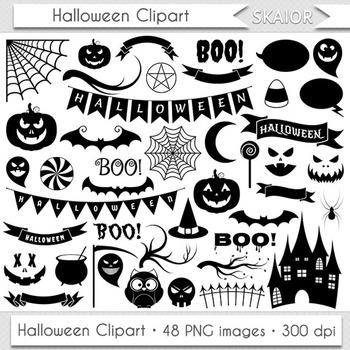 Halloween Clip Art Halloween Clipart Jack O Lantern Pumpkin Face Icons
