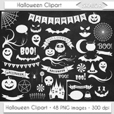 Halloween Clipart Chalkboard Halloween Clip Art Bat Pumpki
