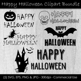 Halloween Clip Art - Happy Halloween Graphics