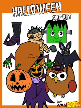 Halloween Clip Art (Ivanpatch)