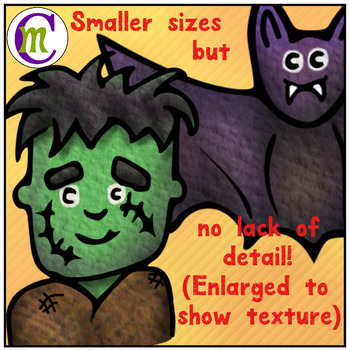 Halloween Clip Art Mini Clips