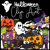 Halloween Clip Art: Moveable for Paperless Resources