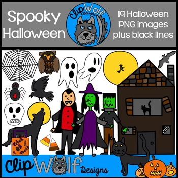 Halloween Clip Art: Personal and Commercial Use
