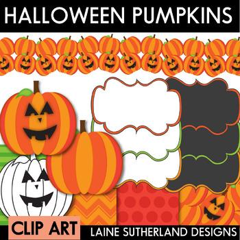 Halloween Clip Art - Pumpkins