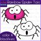Halloween Clip Art - Rainbow Spider Tots {jen hart Clip Art}