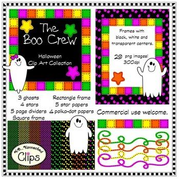 Halloween Clip Art - The Boo Crew!