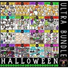 Halloween Clip Art Ultra Bundle {Educlips Clipart}