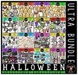 Halloween Clip Art Ultra Bundle {Educlips Clipart}