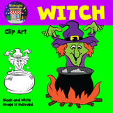 Halloween Clip Art - Witch