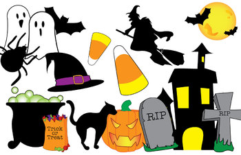 Halloween Clip Art by Stutelage
