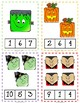Halloween Clip Cards - Numbers 1 - 10