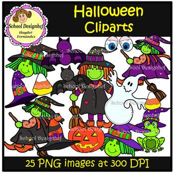 Halloween Clip Art (School Design)