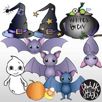 Halloween Clip Art- Chalkstar Graphics