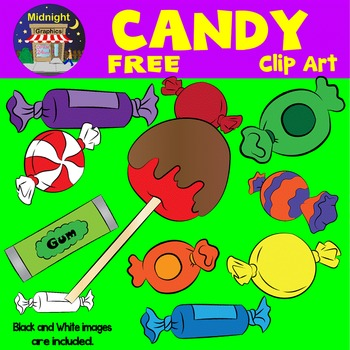 Halloween Clipart - Candy