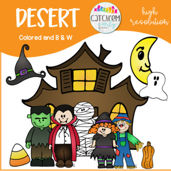 Halloween Clipart Colored