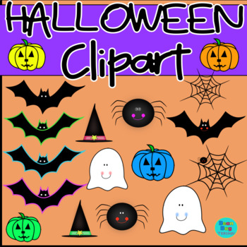 Halloween Clipart | Commercial Use