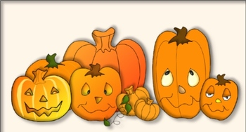 Halloween Clipart, Cut outs, and Classroom Decorations (commercial allowed)