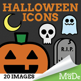 Halloween Clipart Elements - Icons