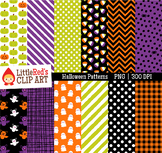 Halloween Clipart Halloween Pattern Digital Papers - Backgrounds